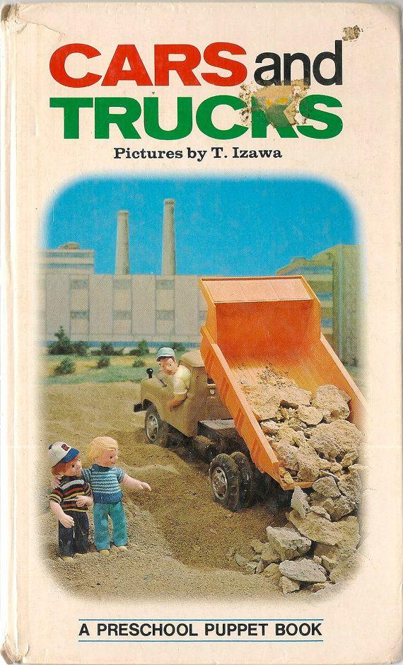 books vintage kids book cars