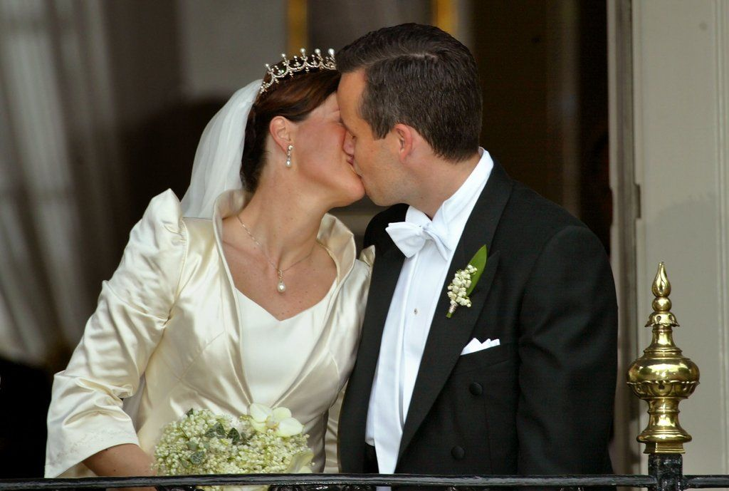 Royal Weddings Around the World   POPSUGAR Celebrity...Princess Martha and Ari Behn of Norway
