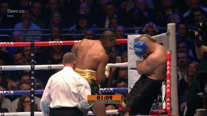 David Haye's 1st round KO of Mark de Mori http://ift.tt/2nkQcSE Love #sport follow #sports on @cutephonecases