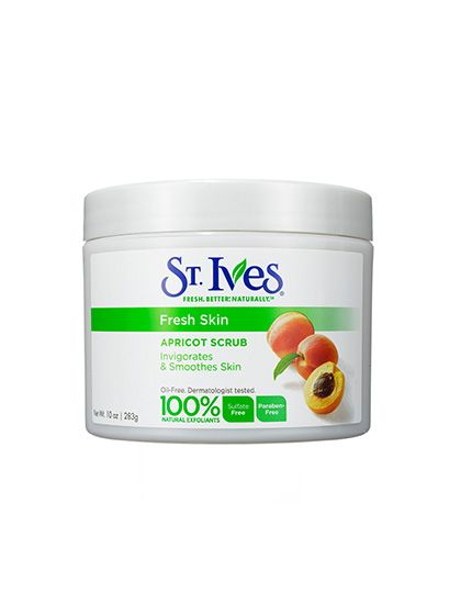 2014 Readers' Choice Awards winner: St. Ives Fresh Skin Apricot Scrub polishes dry legs and callused heels, $5.99