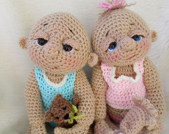 So cute baby doll crochet pattern with teddy bear hat toy and so cute baby doll crochet pattern with teddy bear hat toy and cocoon by teri dt1010fo