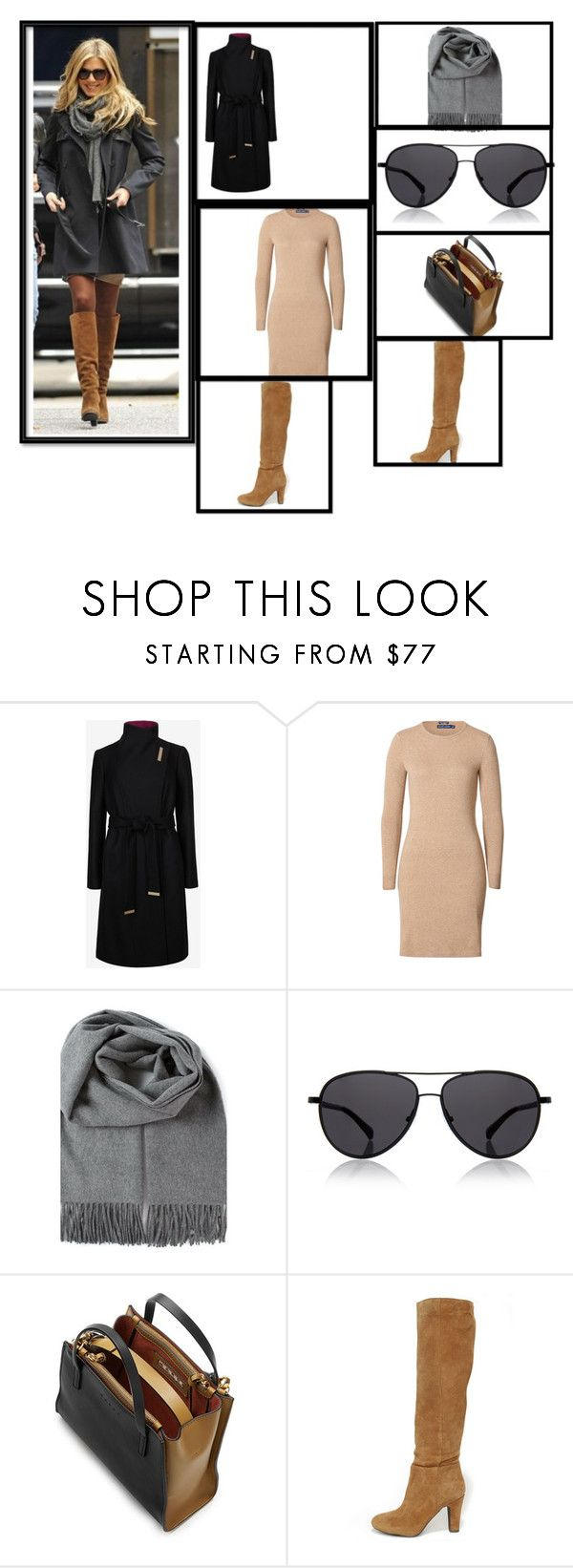 """Untitled #3112"" by mr-1 on Polyvore featuring Ted Baker, Polo Ralph Lauren, The Row, Marni, Jessica Simpson, women's clothing, women, female, woman and misses"