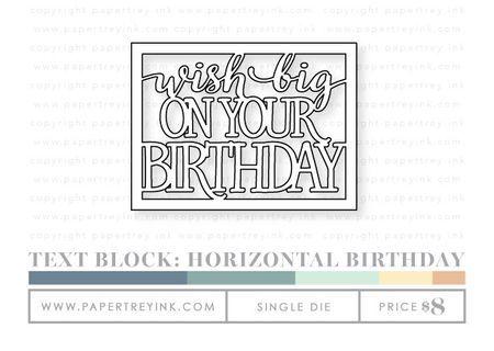 Text-block-horizontal-birthday-die ?