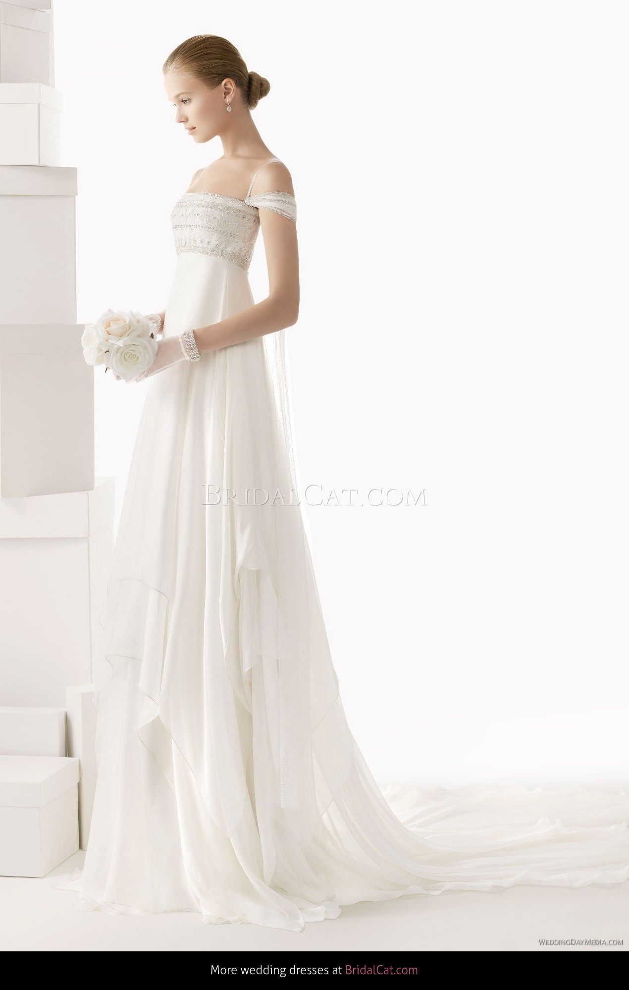 Abito da sposa Rosa Clara 157 Celia 2014 - TuoAbito.it | Wedding ...