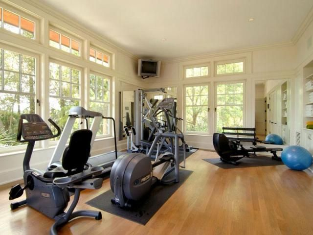 I want a mini gym room in my house future