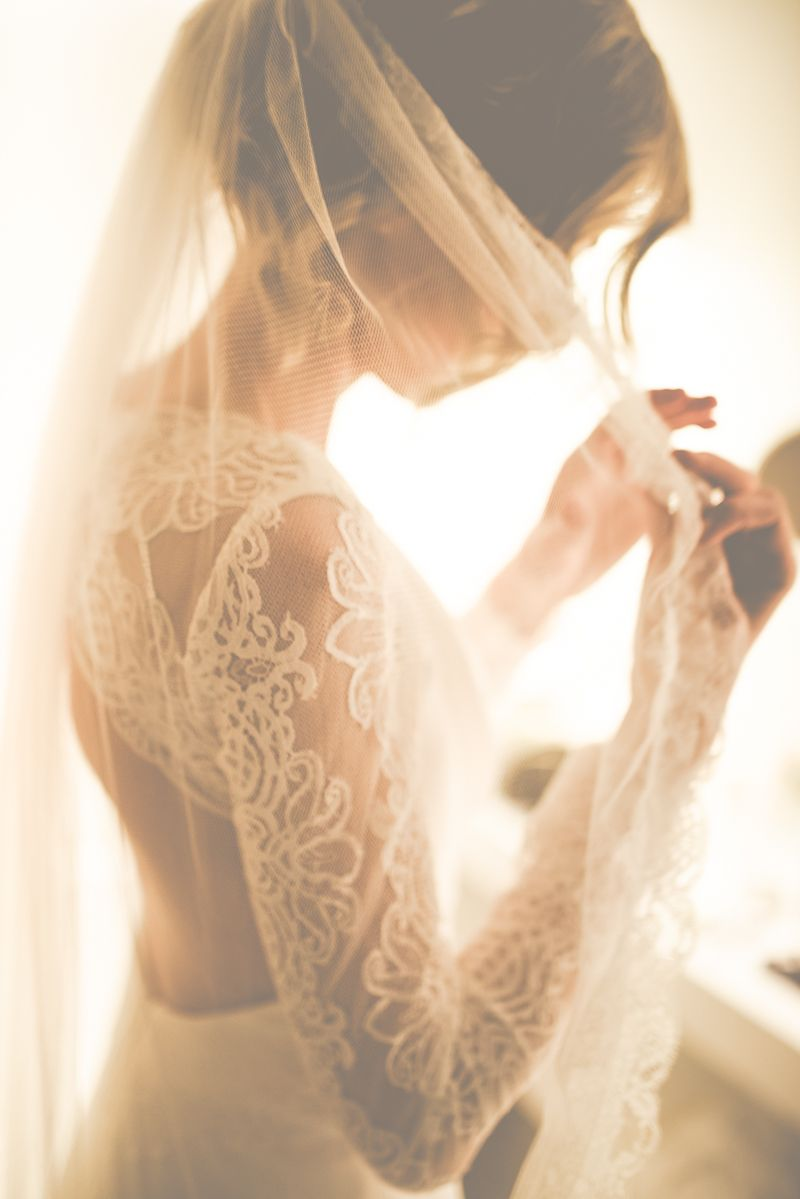 Modern vintage wedding dresses  An Intimate And Luxurious Destination Wedding In Barcelona With A