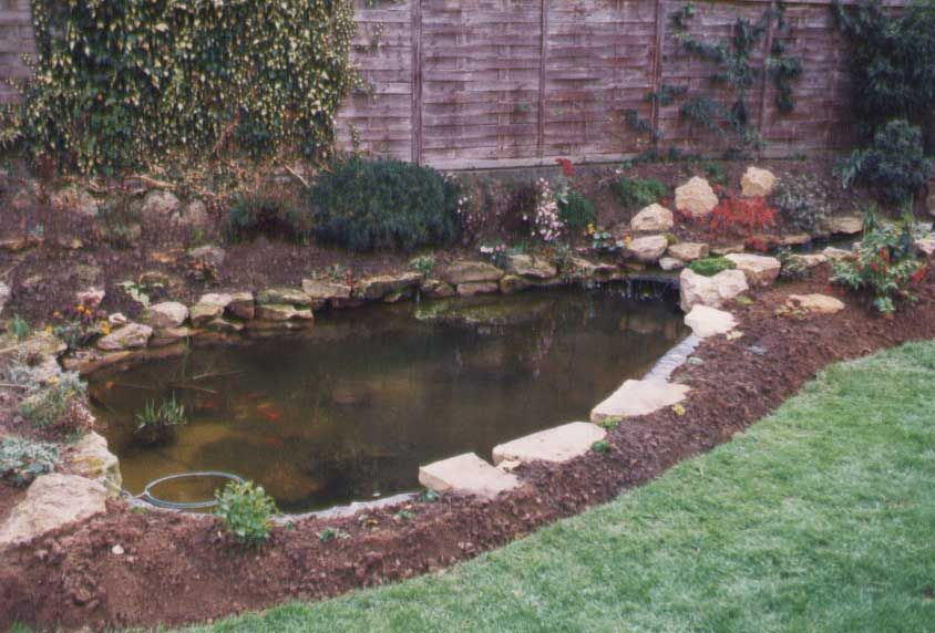 Charming Small Plastic Garden Ponds Water Features Add A Peaceful Sound To Any Garden