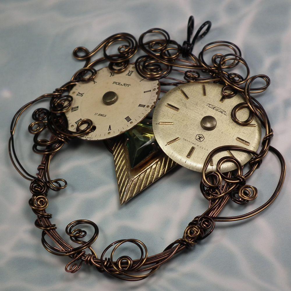 Steampunk Owl what fun!!! | JewelryLessons.com