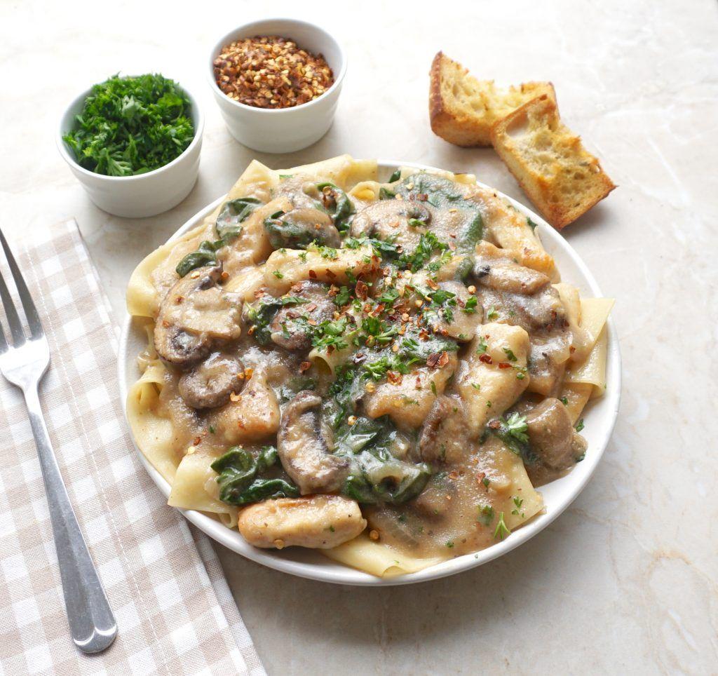 Chicken Marsala Pappardelle Recipe Pasta Dishes Chicken