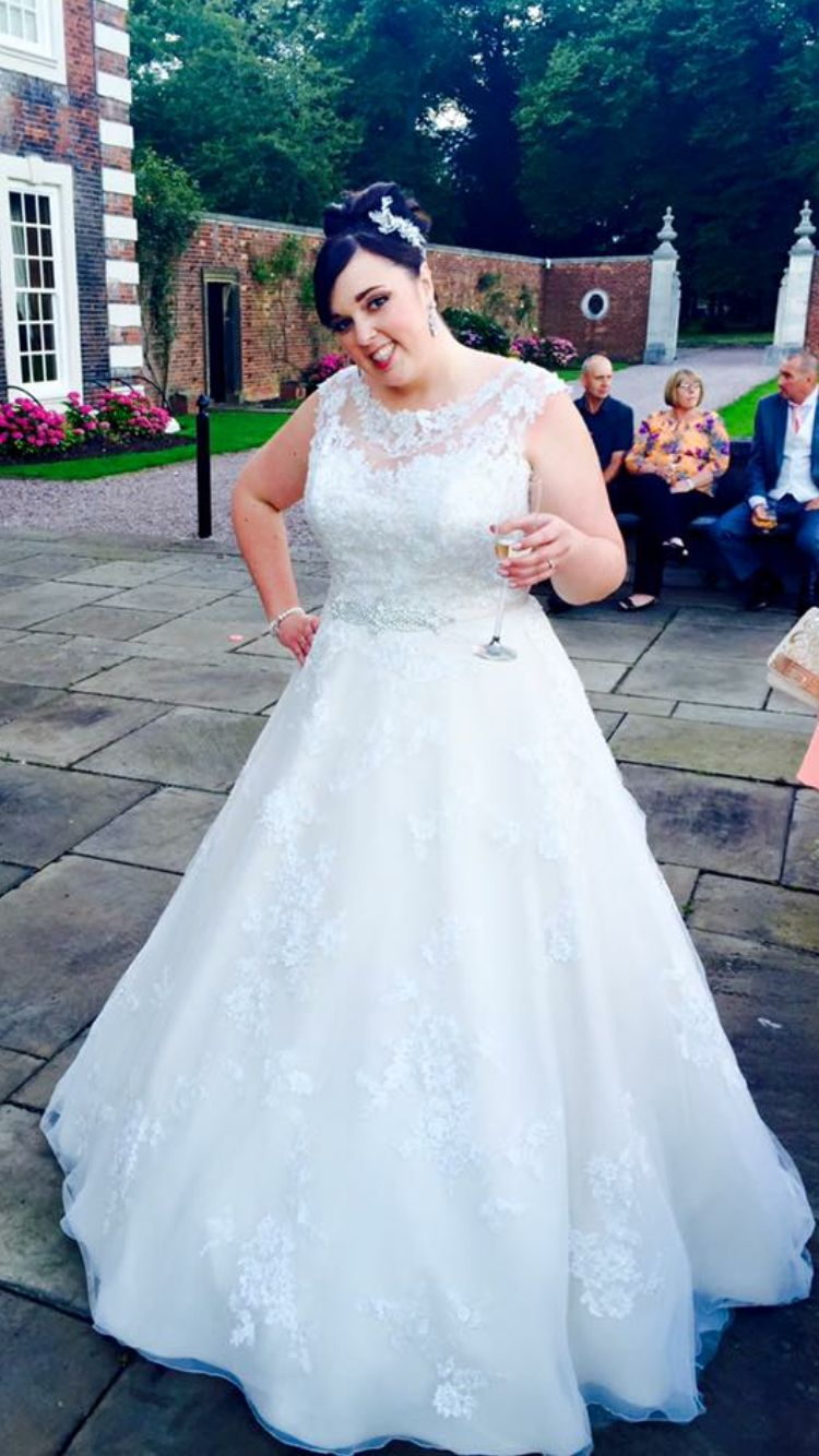My gorgeous wedding dress robyn by ronald joyce in champagne my gorgeous wedding dress robyn by ronald joyce in champagneivory thanks to bridalwear by emma louise in bolton for helping me find my dream dress ombrellifo Image collections