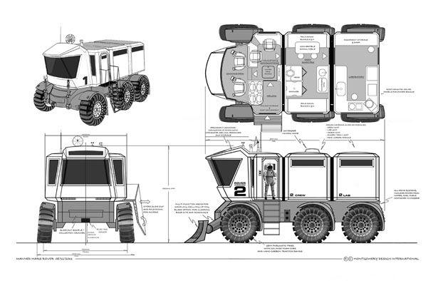 mars exploration rover design - photo #16