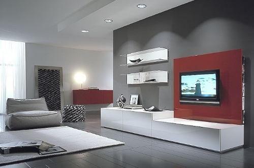 Arredamento british ~ Modular lcd rack panel tv moderno living progetto mobili cosas
