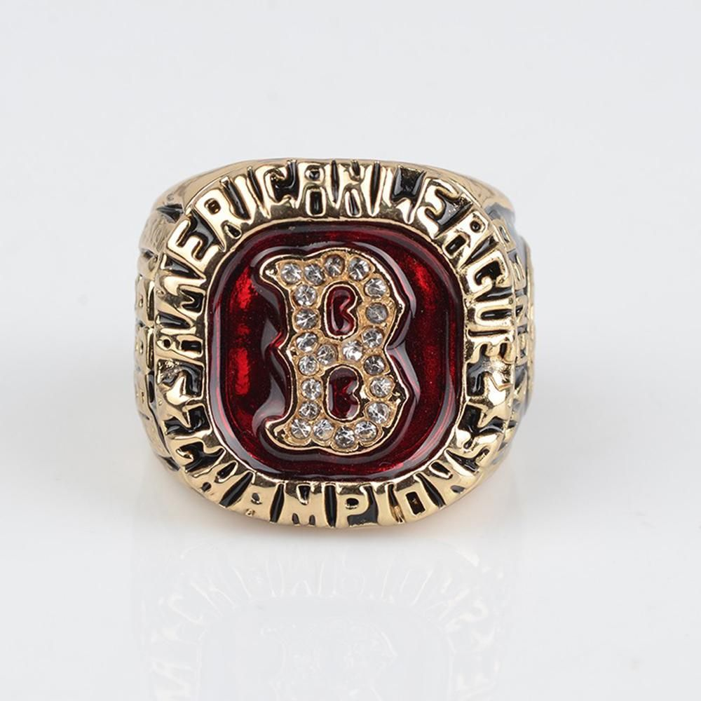 1986 Steve Lyons Boston Red Sox American League Ring Boston Red Sox Red Sox Rings