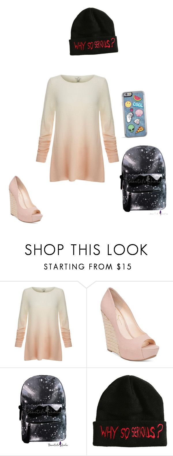 """""""school day"""" by animefashiondiva ❤ liked on Polyvore featuring Joie and Jessica Simpson"""