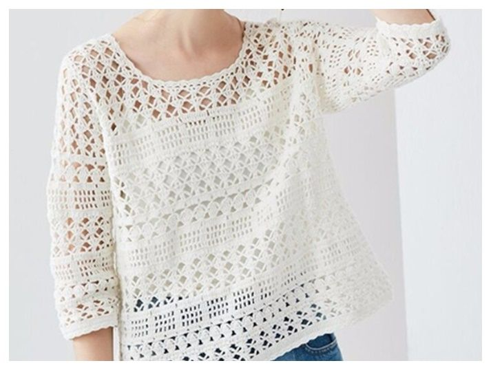 Camisola – Delicadezas al Crochet | örgü | Pinterest | Crochet