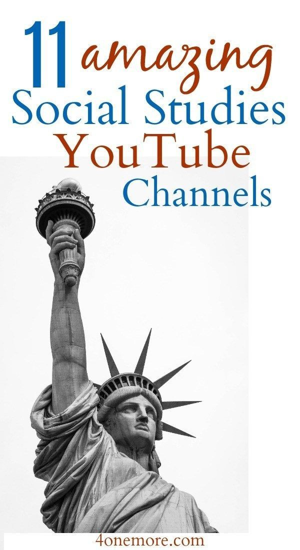 11 Amazing Social Studies YouTube Channels - 4onemore-- 11 Amazing Social Studies YouTube Channels – Making Room 4 One More