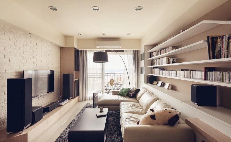 How To Light A Narrow Living Room Louie Lighting Blog Narrow Living Room Long Living Room Long Narrow Living Room