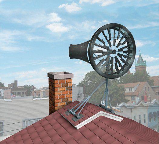 A Personal Turbine Makes Your Rooftop Into A Wind Farm Solar Energy Diy Alternative Energy Solar Energy