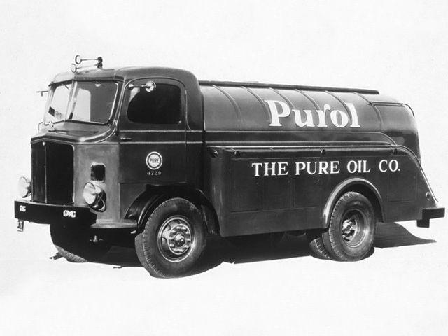19341938 Gmc T 75 Coe Tanker Old Trucks Trucks Fuel Truck