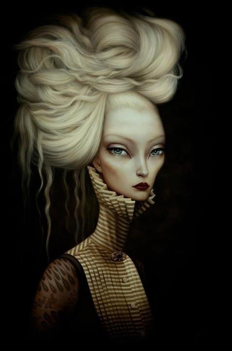 Lory Earley, surrealismo gotico