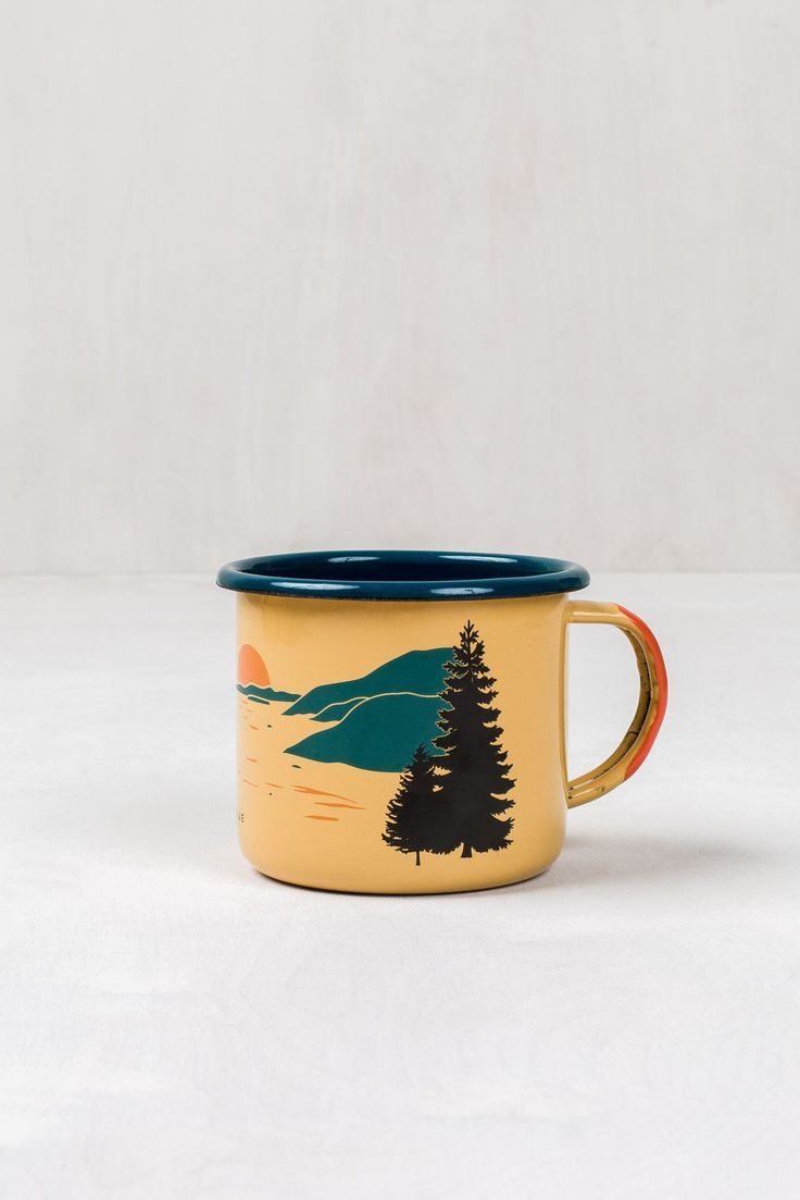 Inlet Enamel 12 oz. Mug #coolmugs