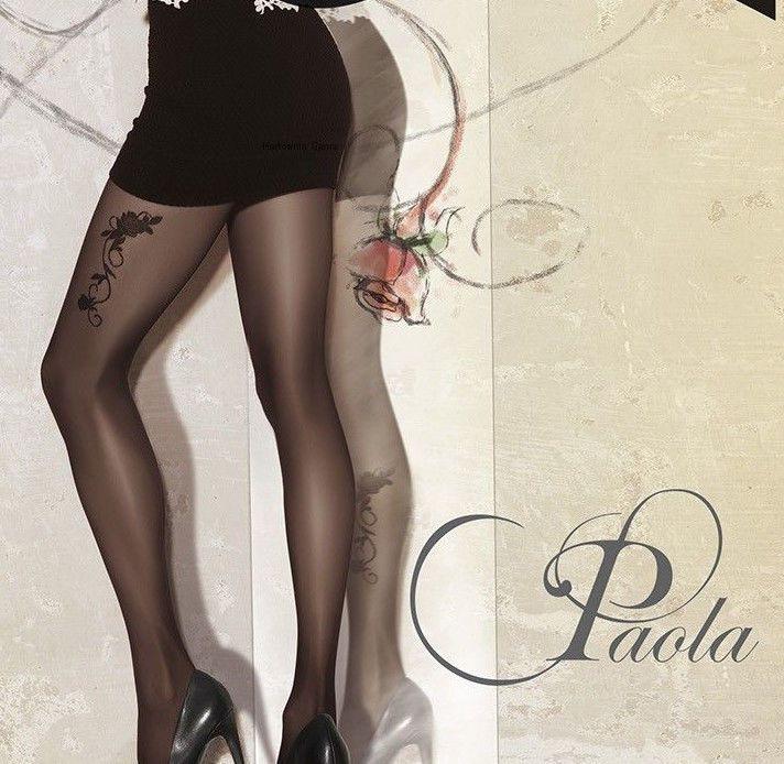 Bien connu Collant noir tatouage fantaisie Femme lingerie-sexy Gatta 40 Den  DY31