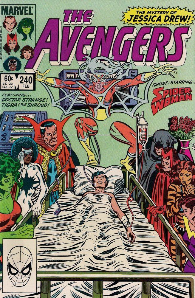 AVENGERS # 240 MARVEL COMICS ROGER STERN / AL MILGROM 1984 vf+(8.5)