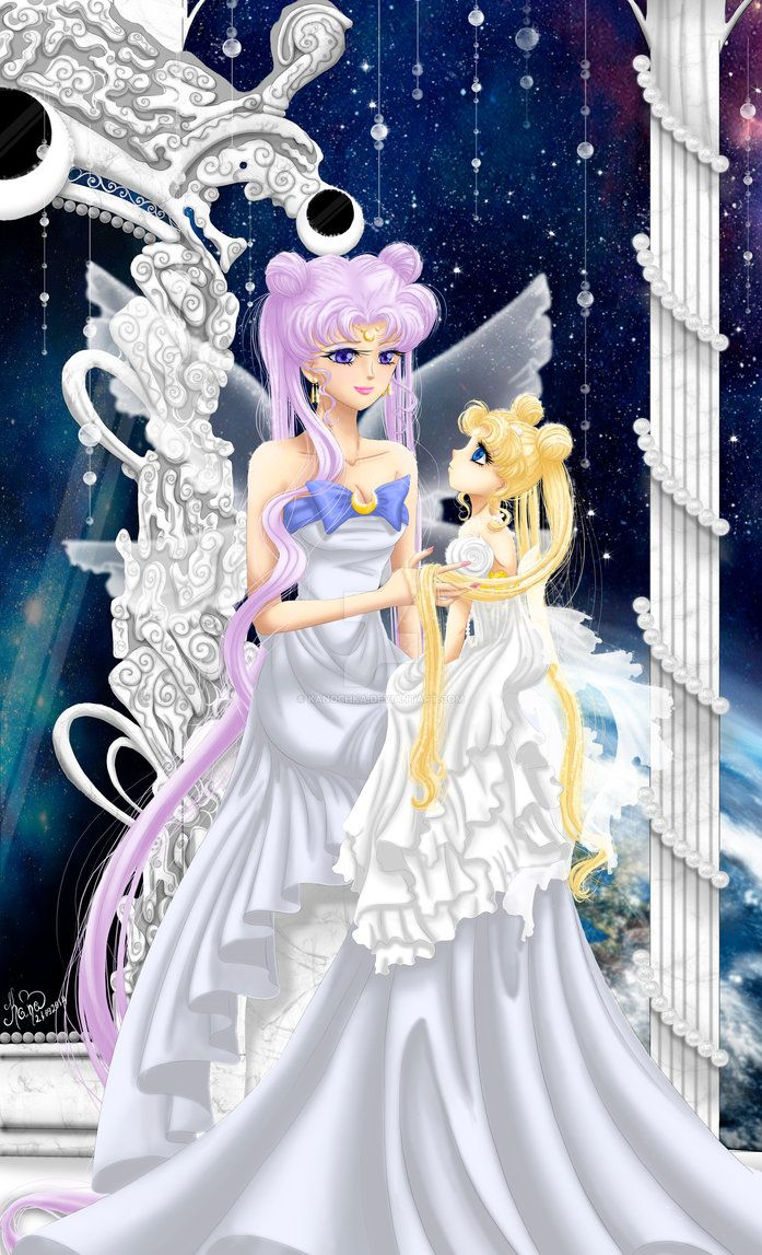 Sailor Moon: Daughter Of The Moon by Kanochka