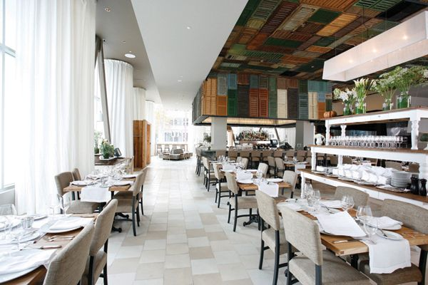 Love The Shutter Ceiling ~ Ella Dining Room & Baruxus  Via Entrancing Ella Dining Room & Bar 2018