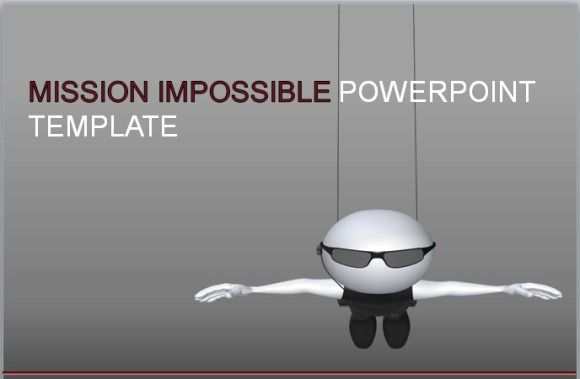mission impossible animated powerpoint template