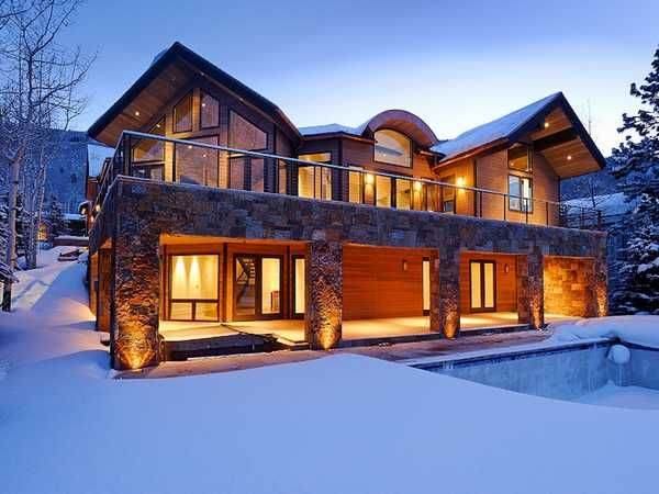 Winter home.... in Aspen!  If im lucky :) I wanna give my kids a white christmas
