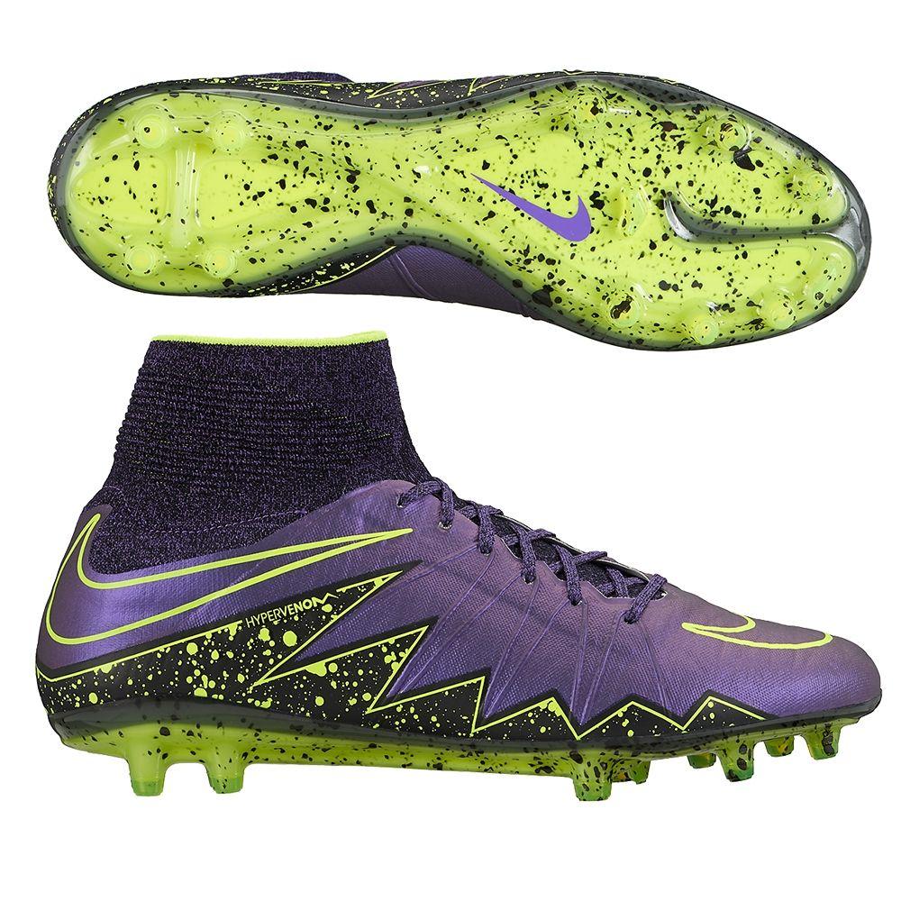 newest b607b dd939 Nike Hypervenom Phantom II FG Soccer Cleats (Hyper Grape ...
