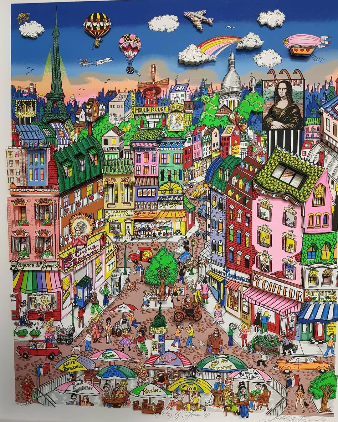 Fazzino Paris aktuell in der Galerie Wehr #fazzino #köln ...