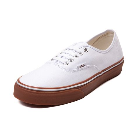 Vans gum sole white | Things to Wear | Vans authentic, Skate shoes ...