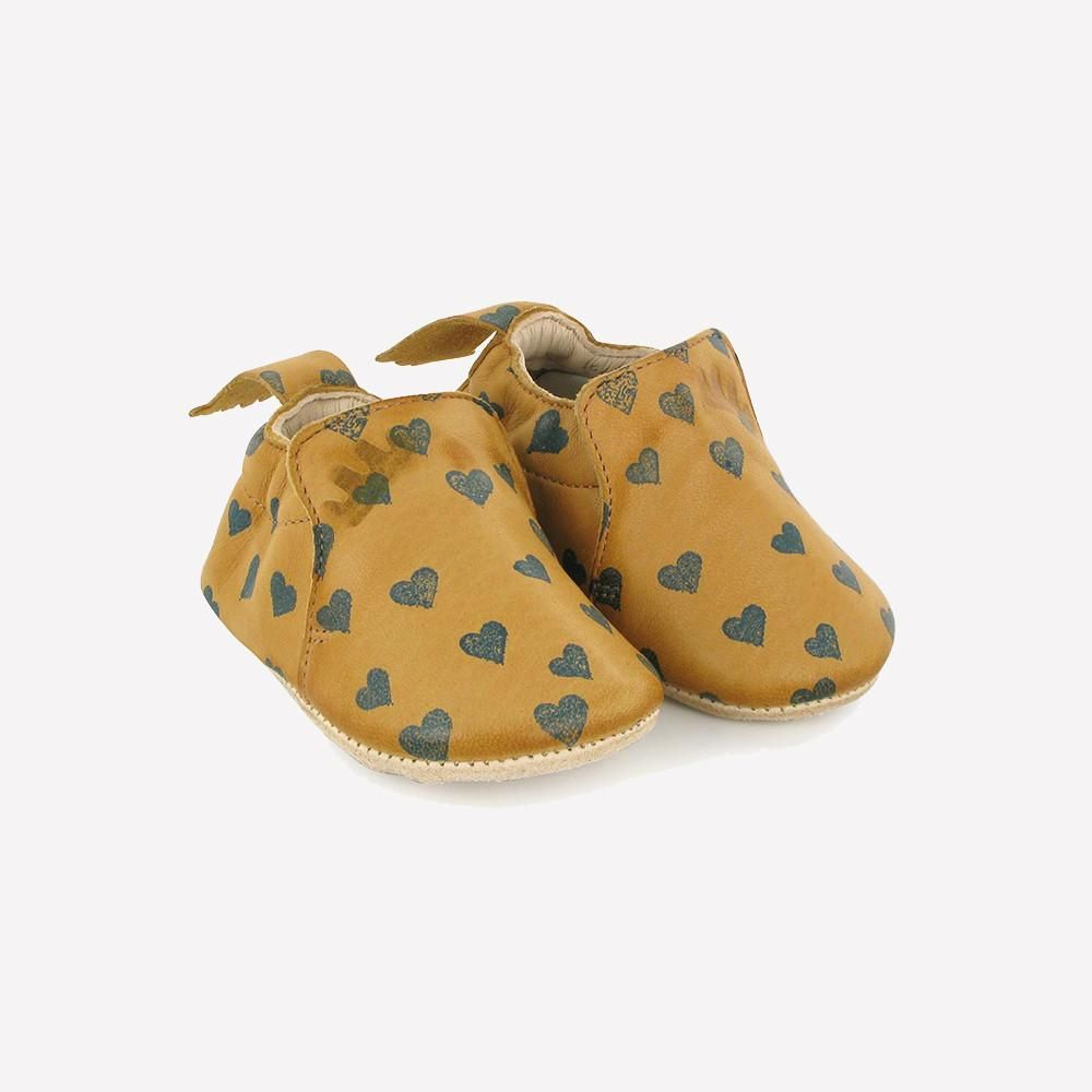 Eco leather slippers from French brand