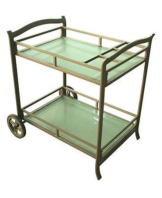 Serving Cart Outdoors