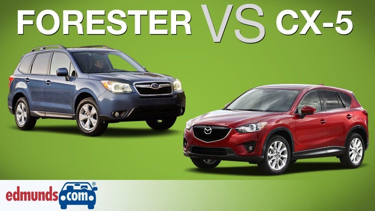 Subaru Forester Vs Mazda Cx 5 Which Crossover Suv Is Better