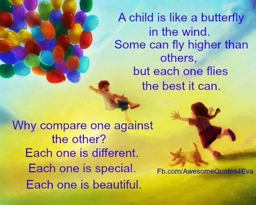 Inspirational Quotes About Loving Children Interesting Cool From Familyshare A Child Is Like A Butterfly In The Wind