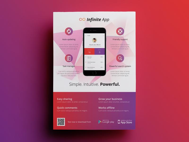 sneak peek of upcoming app flyer 2 app poster pinterest app