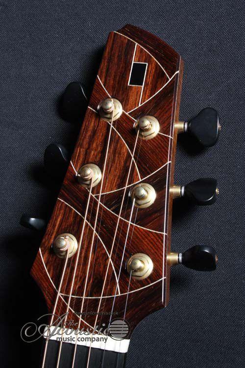 Stephen Strahm Build For Tamco Uk Acoustic Guitar Guitar Design Luthier Guitar