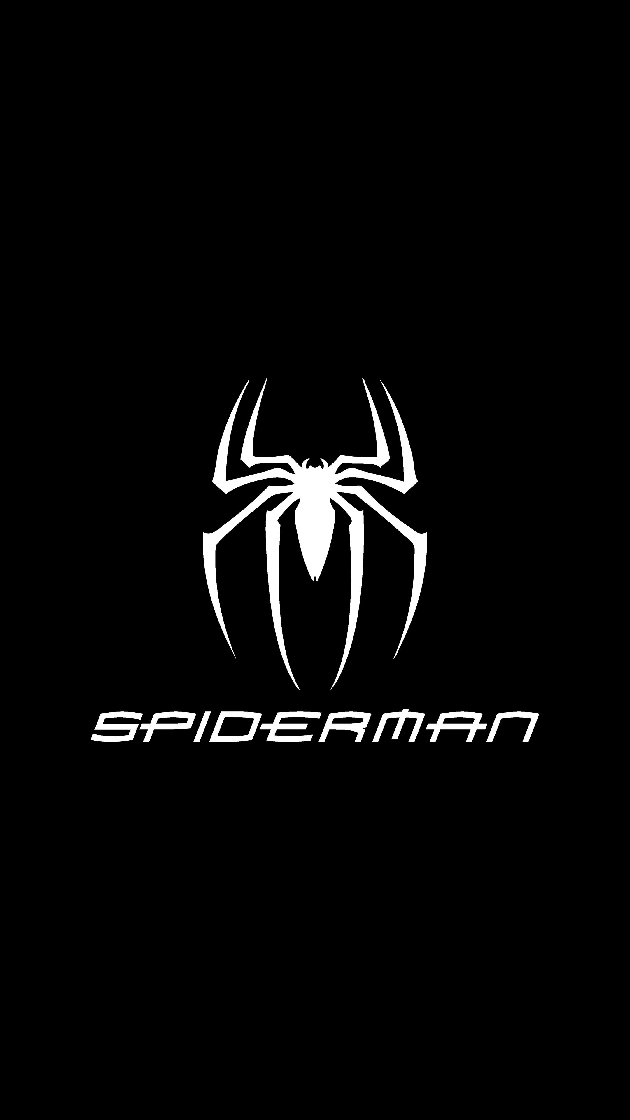 Spiderman 2160p 4k Oled Wallpaper Desain Logo Gambar Wallpaper Ponsel