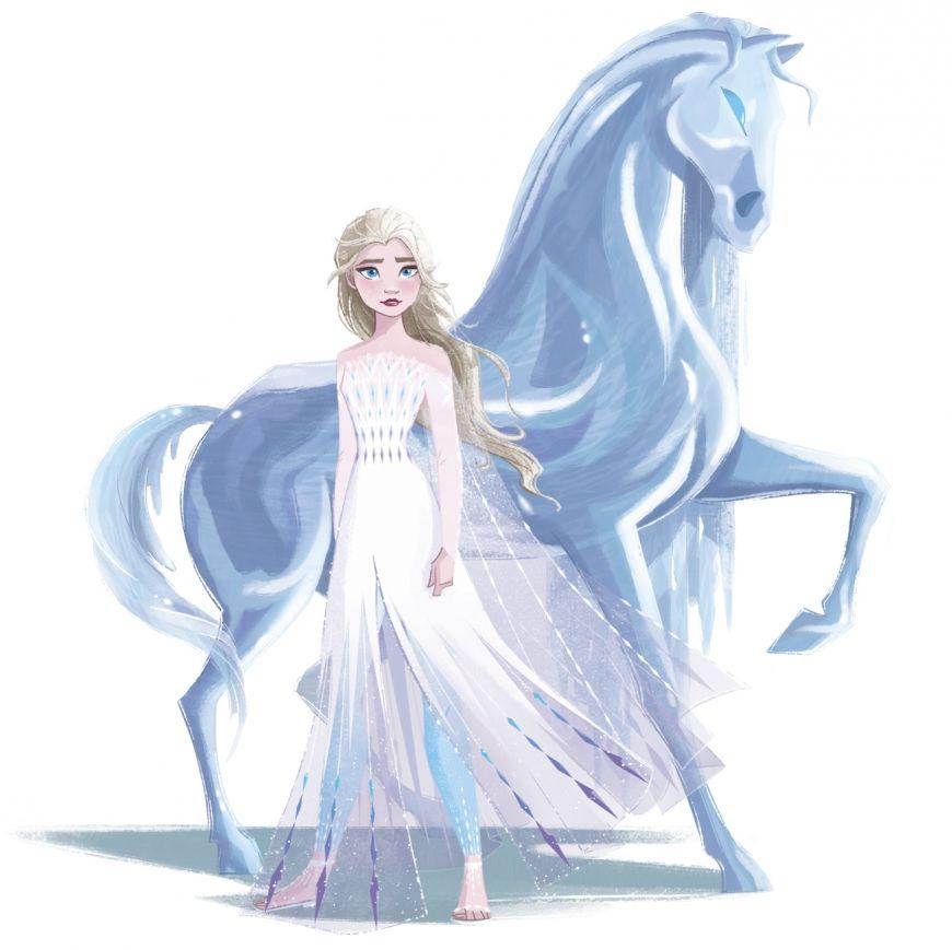 Frozen 2 Final Look With Nokk Water Spirit Disney Princess Frozen Frozen Disney Movie Disney Princess Art