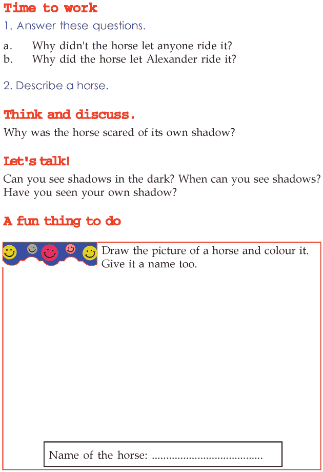 Grade 2 Reading Lesson 14 Myths And Legends The Horse And The Prince ...