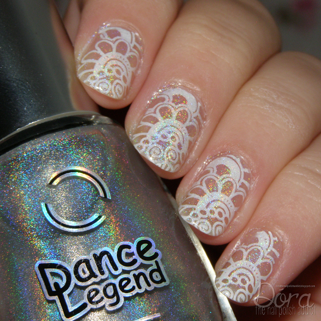 Dóra, the nail polish addict: Negative space stamping | Born Pretty ...