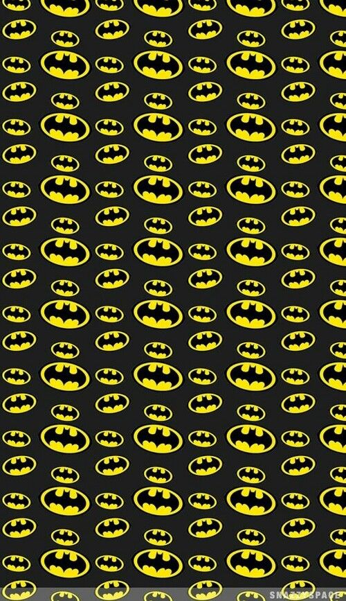 Print Batman Black Yellow Batman Batman Wallpaper Batman