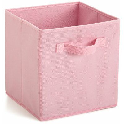 Closetmaid Cubeicals Fabric Storage Bin Color Pink Fabric Storage Bins Fabric Drawers Fabric Storage Cubes