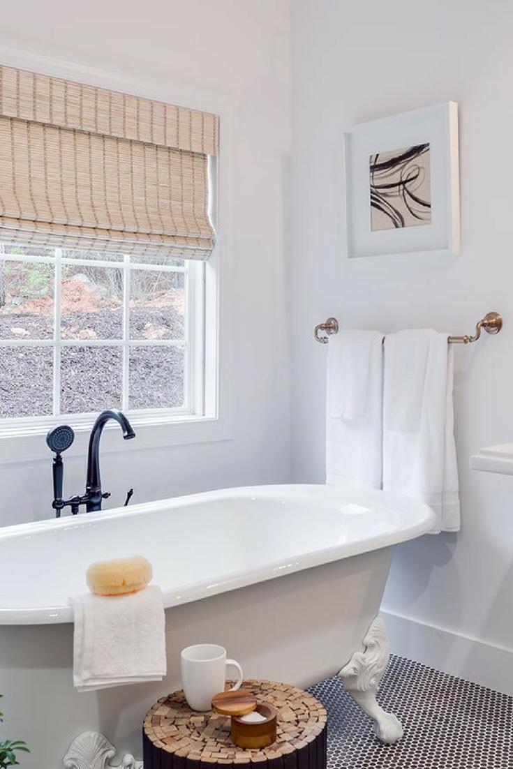 Bathroom window decor  tips from experts make your small bathroom look bigger  casa