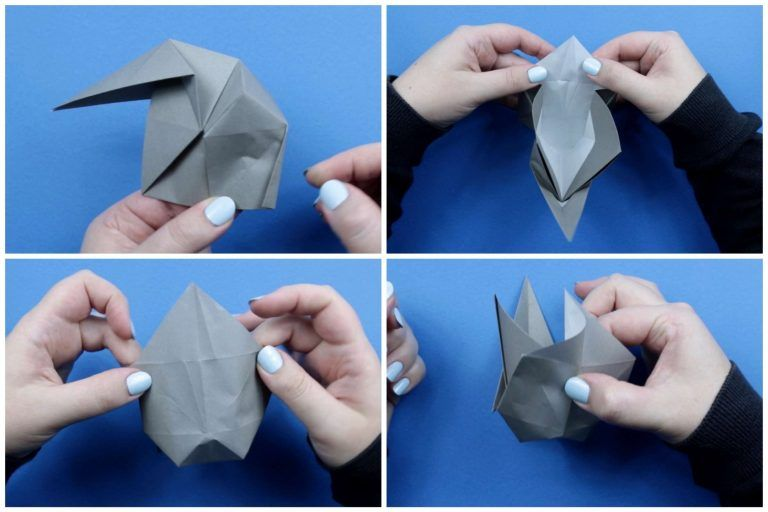 Photo of How To Make An Origami Elephant regarding Origami Paper Craft Elephant