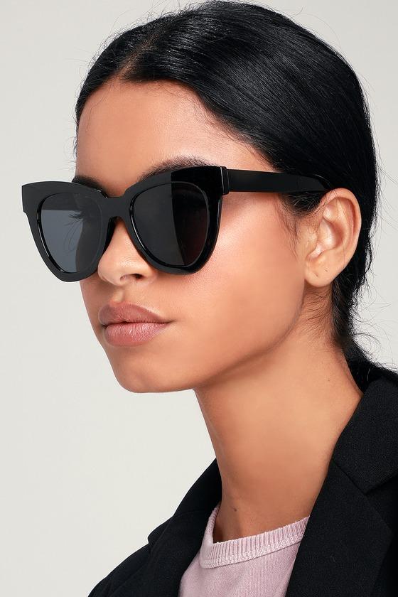 9c5744451459 Howard Black Oversized Sunglasses in 2019   Products   Oversized ...