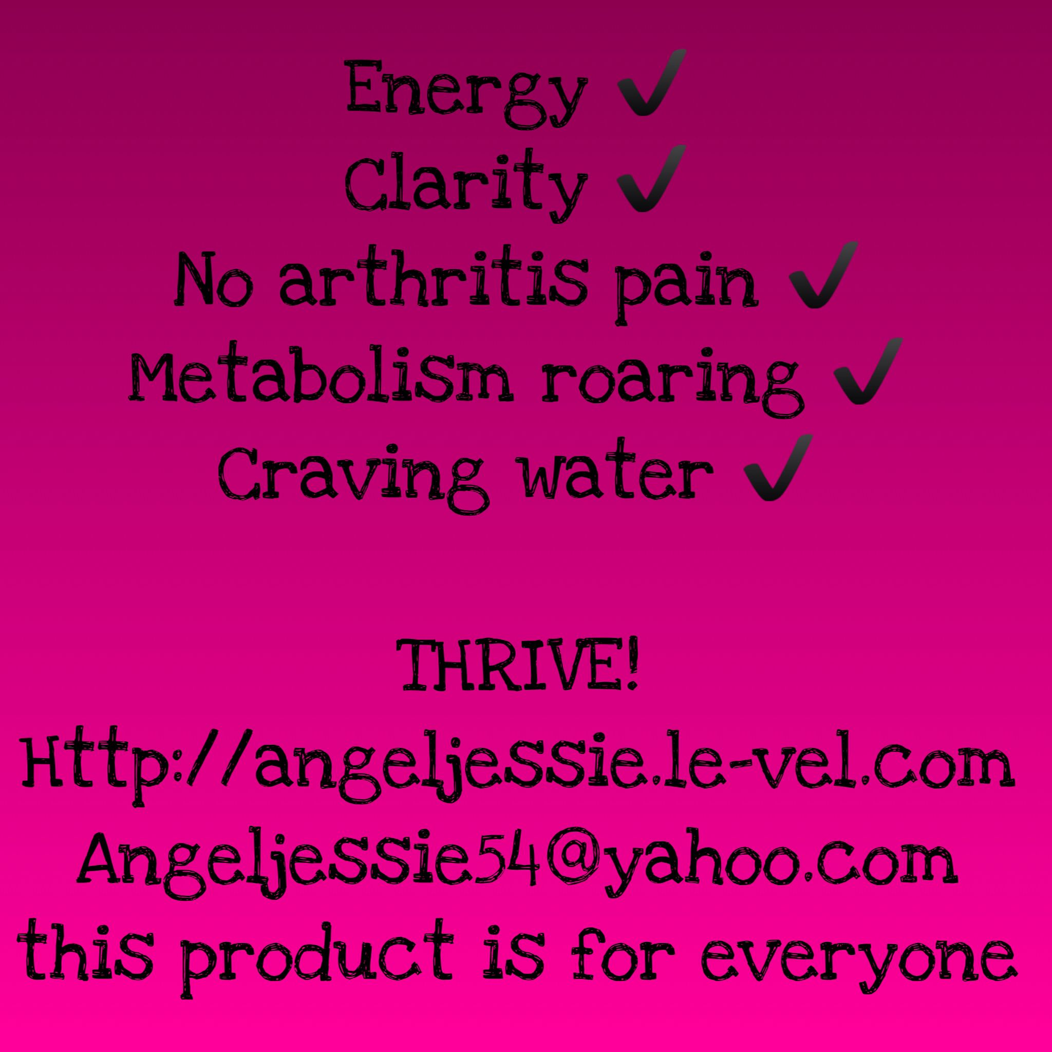 Thrive By Le Vel Gave Me My Life Back